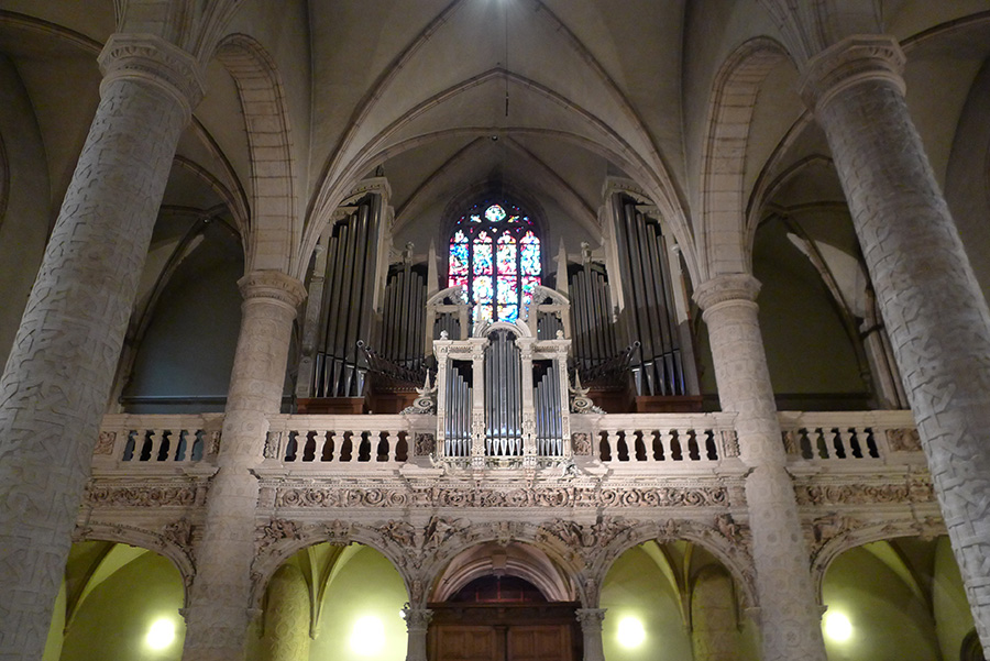 Фото Люксембурга: Внутреннее убранство Собора Люксембургской Богоматери Cathédrale Notre-Dame
