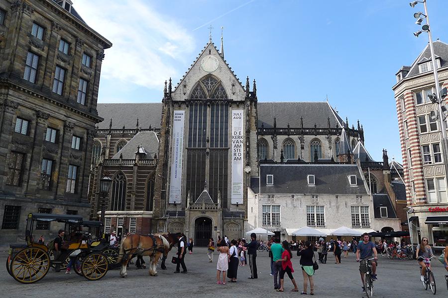 Ньивекерк - Новая церковь в Амстердаме