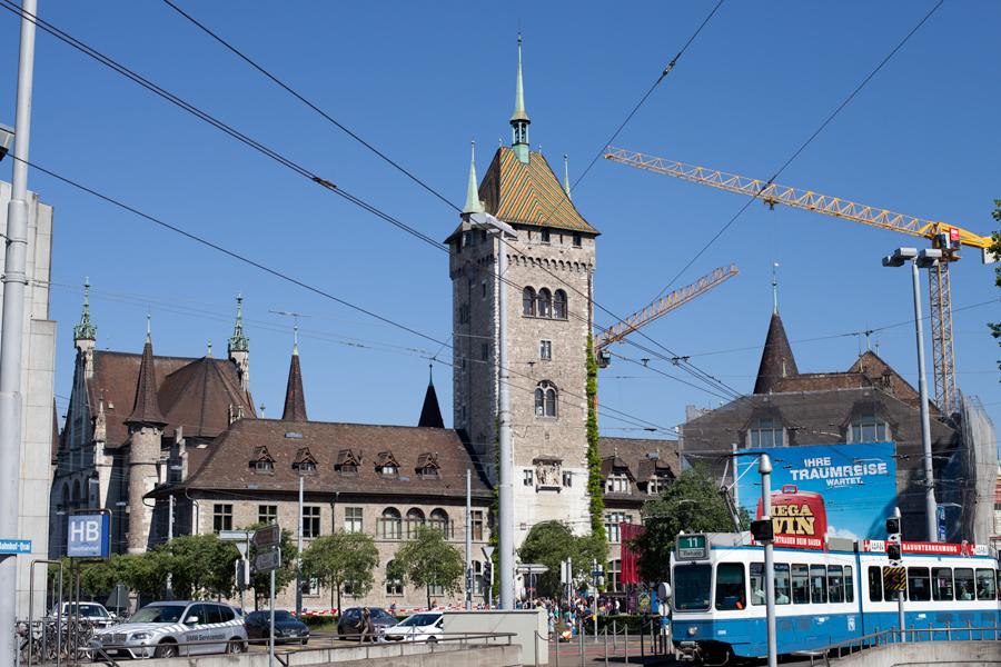 Швейцарский национальный музей в Цюрихе - Landesmuseum
